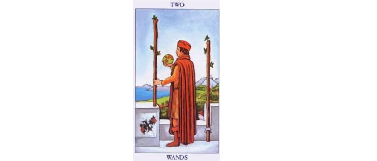 2 жезлов — толкование и значение карты таро