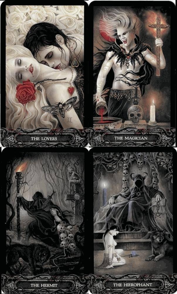 Галерея готического таро вампиров