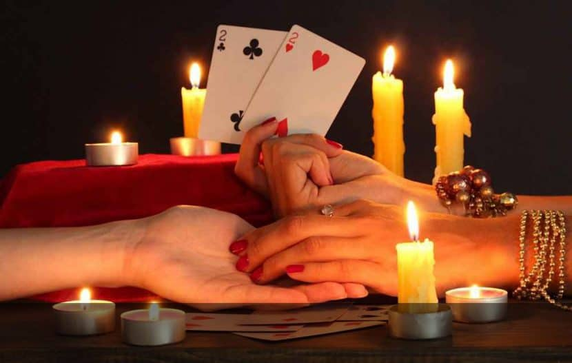 Любовное гадание на картах таро два сердца