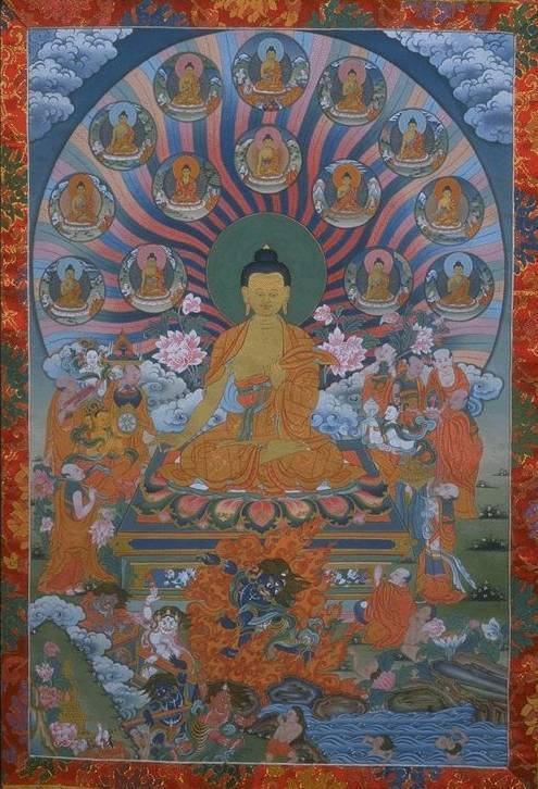 Ритуал принесения обетов бодхисаттвы.. путь блаженства: практическое руководство по стадиям медитации ... 68.