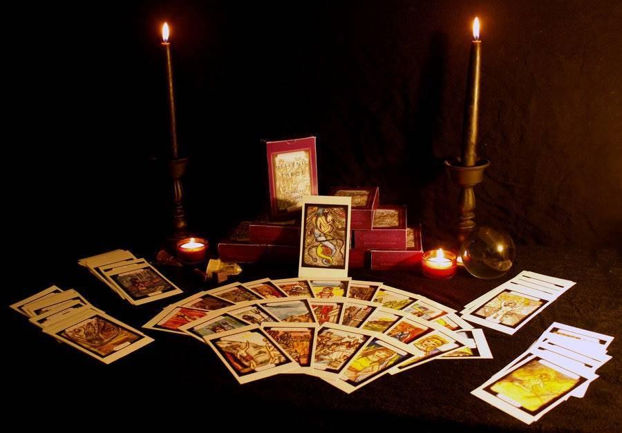 Как погадать по книге ведьм?