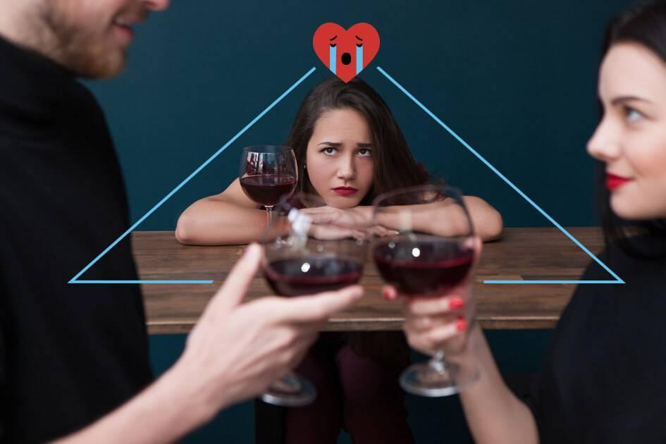Что такое любовный треугольник