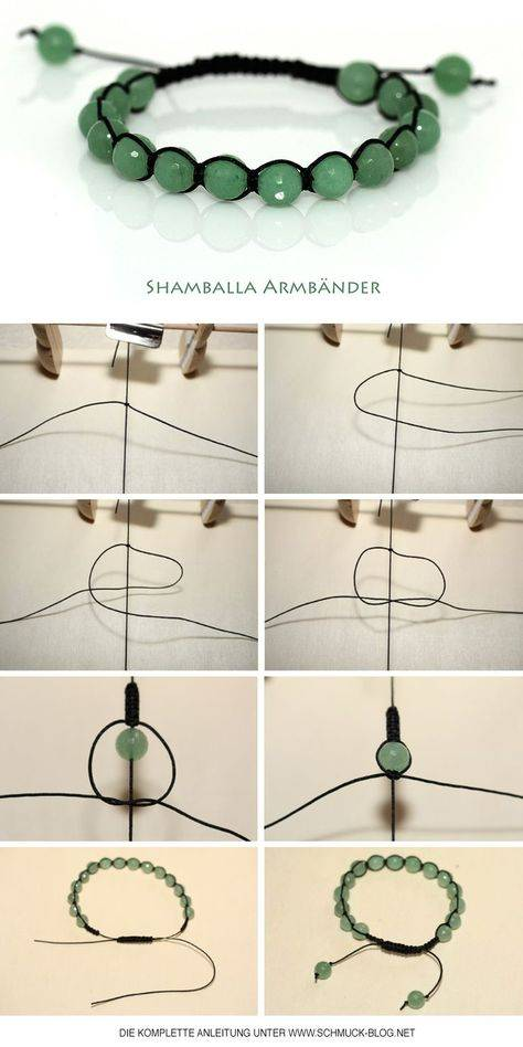 Браслет шамбала: мастер-класс по плетению двойного и тройного аксессуара