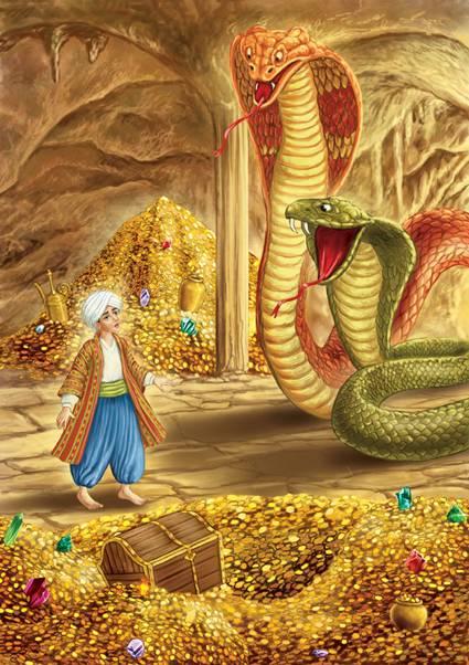 Великий полоз – змей-повелитель уральских гор