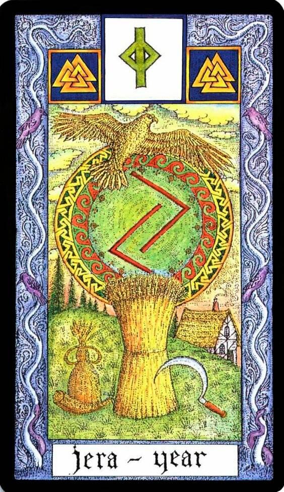 Значение руны йера — древнего символа смены времен года | ya-lyubimaya.ru