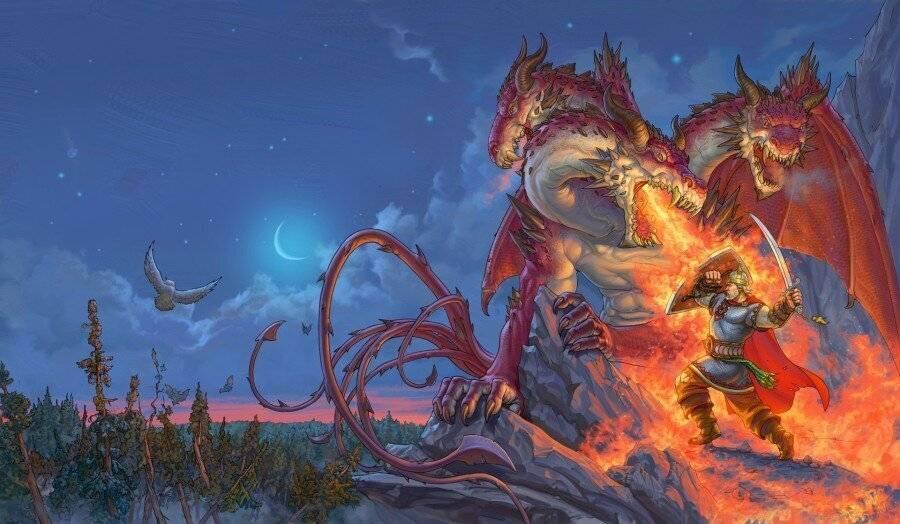 Славянский бог ящер и сказочные змеи славян