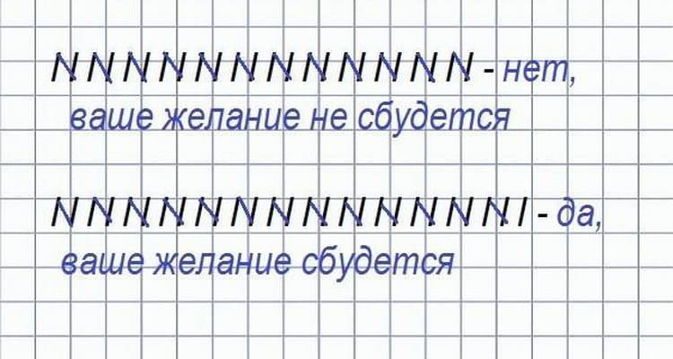 Гадание на бумаге с ручкой: на черточках, лурнист, на любовь и будущее по имени и фамилии