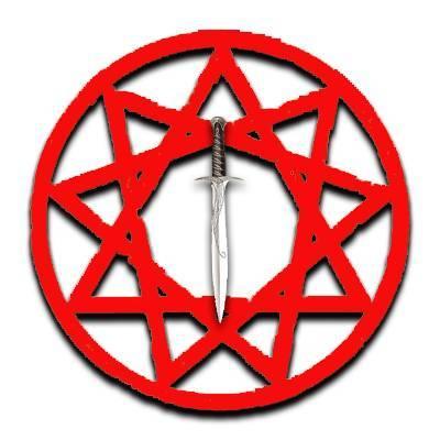Звезда инглии (девятиконечная): значение оберега, с мечом