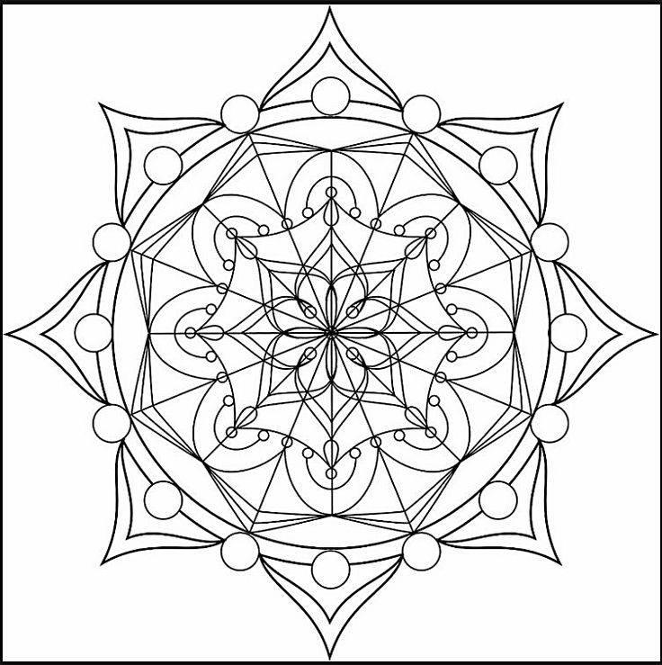 Что такое мандала: как рисовать и значение цветов
