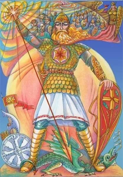 Даждьбог - бог-отец славянских народов