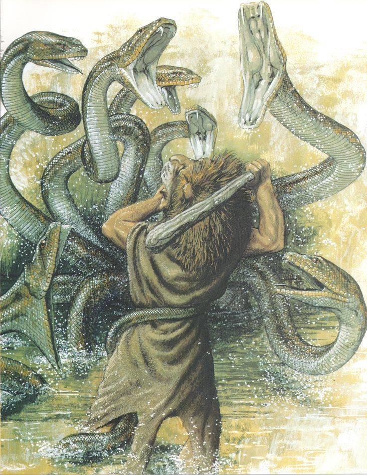 12 подвигов геракла: краткое содержание мифов древней греции