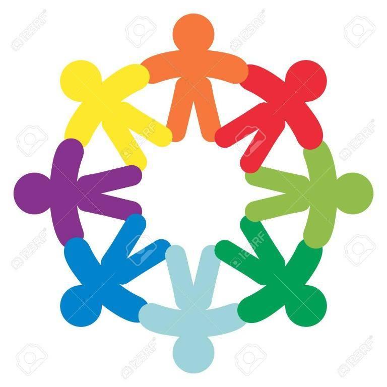 Символ дружбы народов разных стран