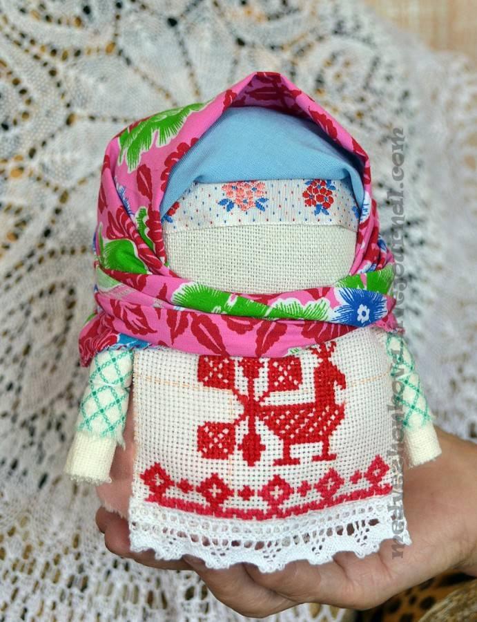 Кукла крупеничка (зерновушка) и её пара богач — оберег для благополучия