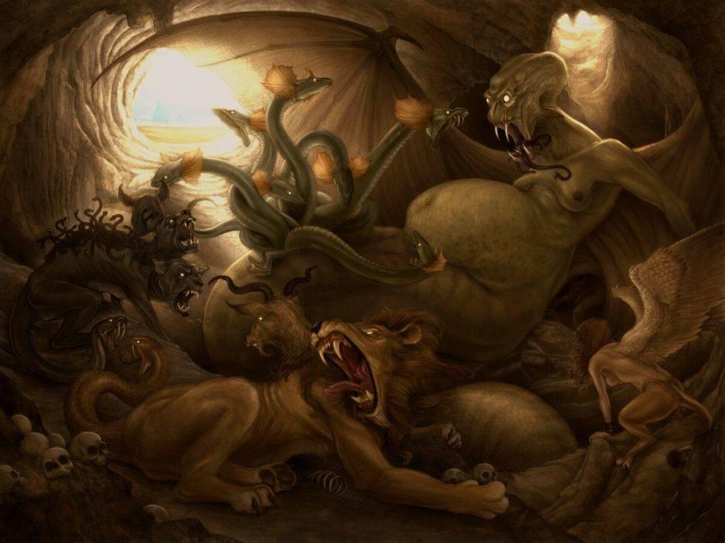 Морские чудовища - мифология   знаки и символы
