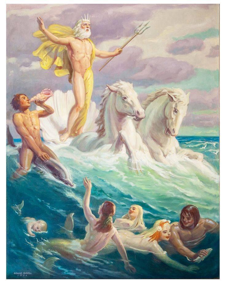 Посейдон - бог моря в древней греции