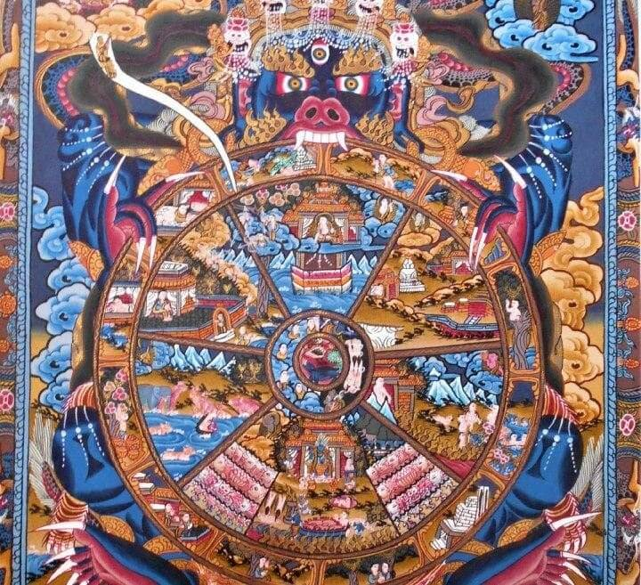Колесо сансары в буддизме — как выйти из круговорота страданий?