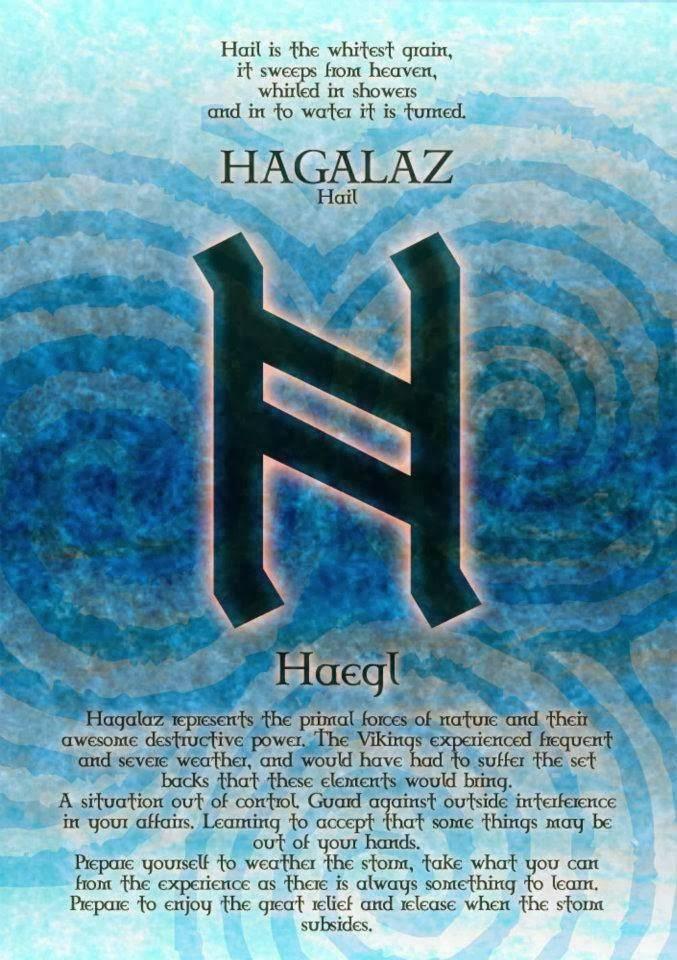 Рунознание: хагалаз (hagalaz)