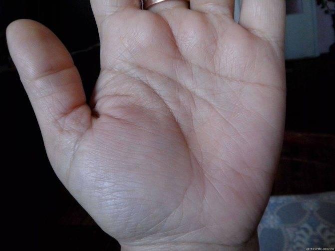 Линия сердца на руке - расшифровка с фото в хиромантии
