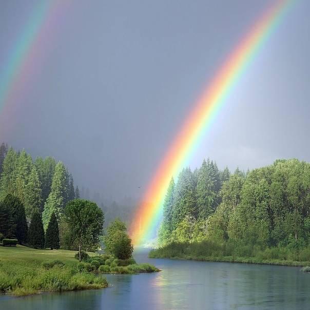 Приметы о радуге: к чему увидеть двойную, вокруг солнца или луны, зимой или осенью