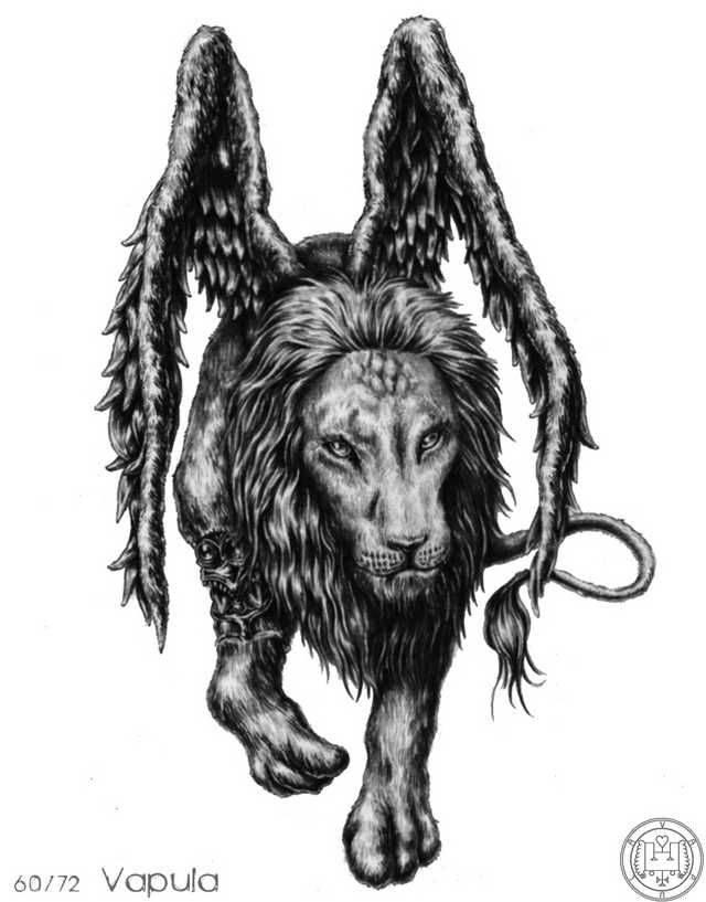 Гоэтия — краткое описание 72 демонов, запечатанных соломоном