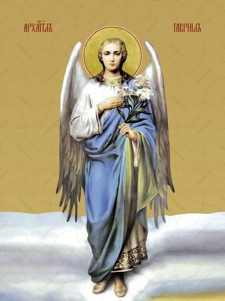 Икона святого архангела гавриила — разбираем вместе