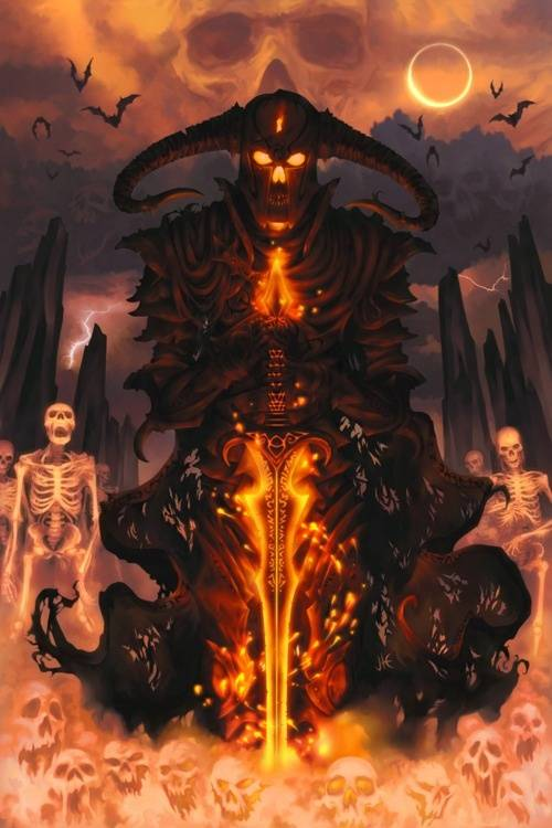 Демон астарот — могущественный адский герцог
