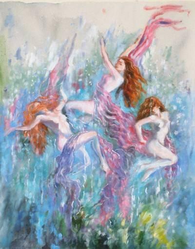 Таинственные нереиды. нереиды — морские сестры из греческой мифологии легенды о плеядах
