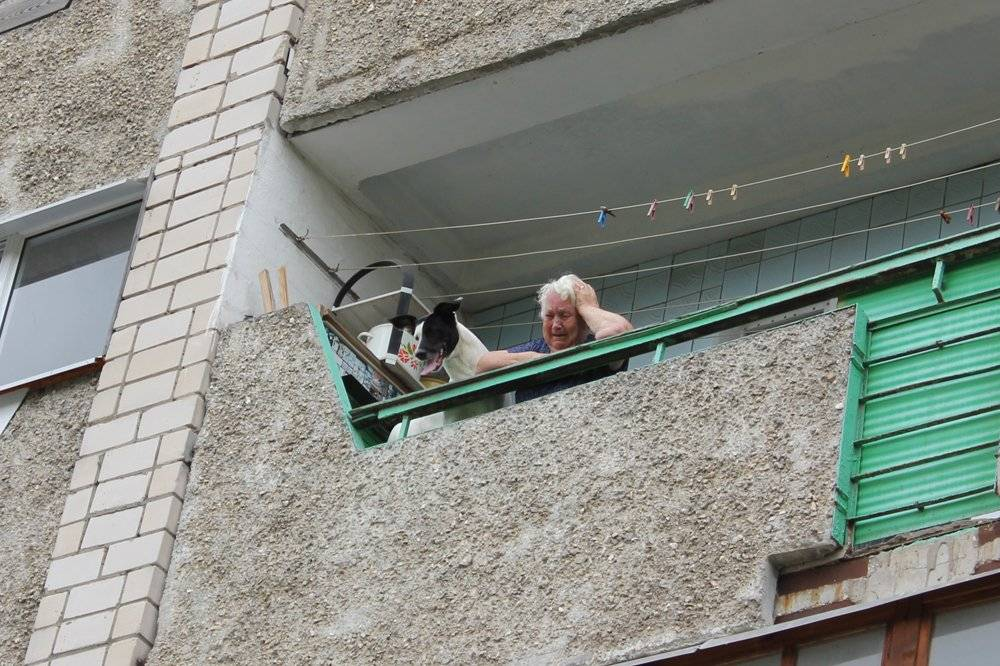 Смотреть вниз через окно