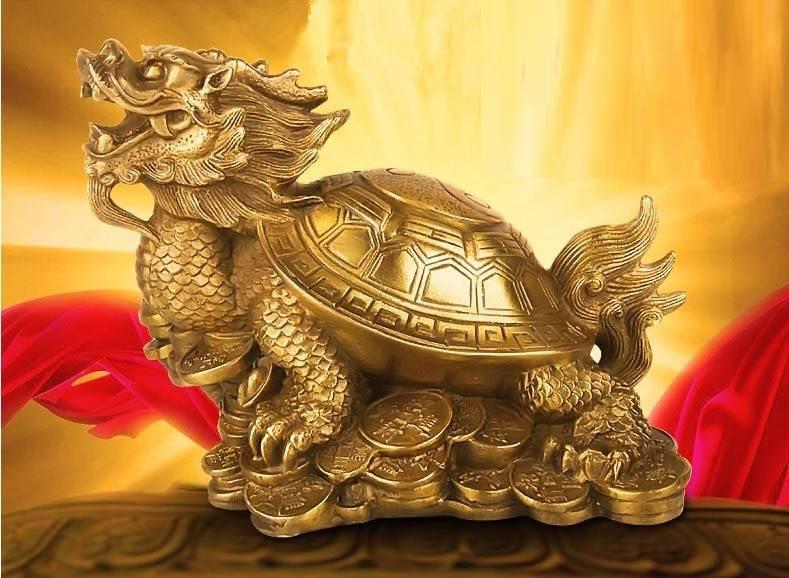 Черепаха по фен-шуй: значение, куда лучше всего ставить