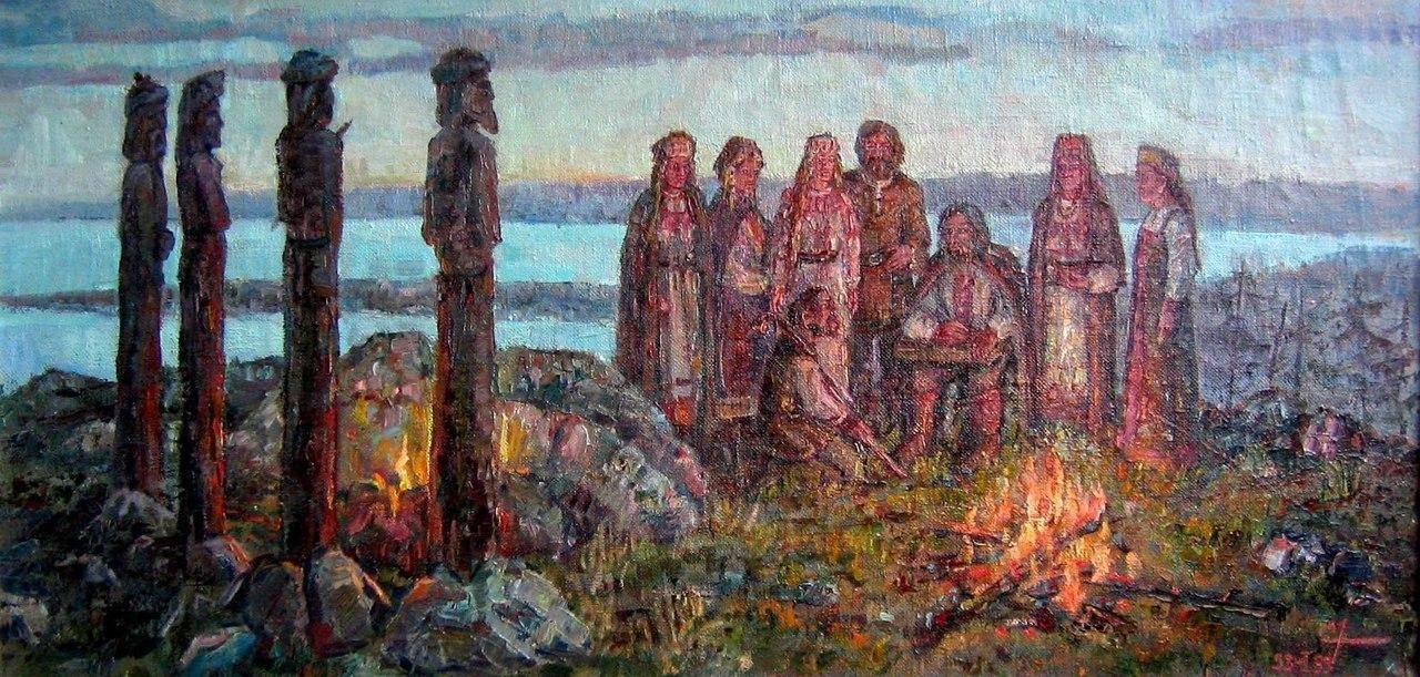 Славянский культ предков   славяне