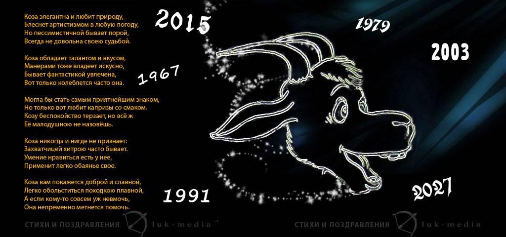 Китайский  гороскоп по  годам, восточный календарь животных