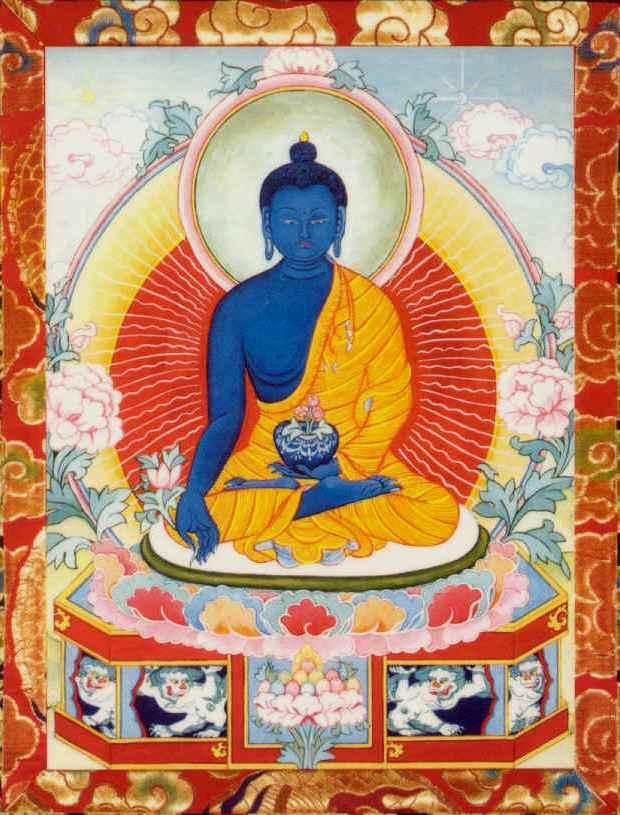 Манла — будда медицины. обсуждение на liveinternet