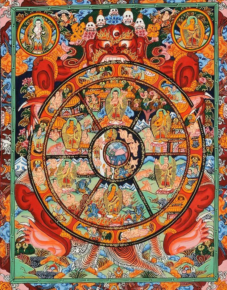 Что такое колесо сансары и как из него выйти? - дом солнца