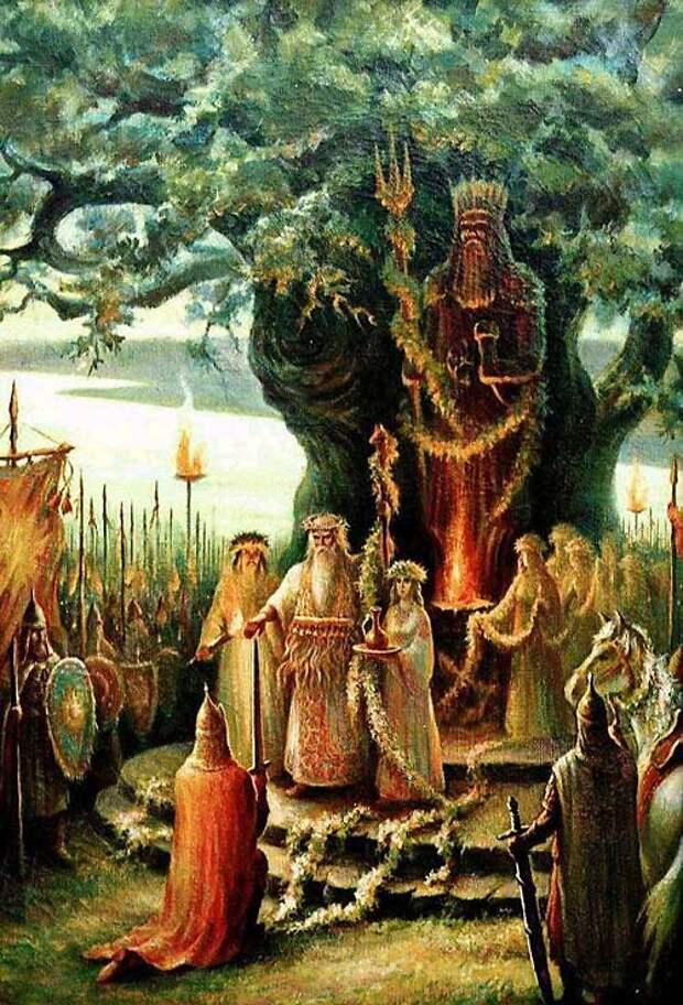 Славянские языческие обряды и ритуалы - сомниак