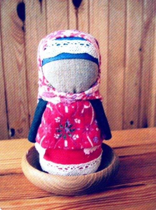 Кукла Зерновушка — сделайте оберег своими руками