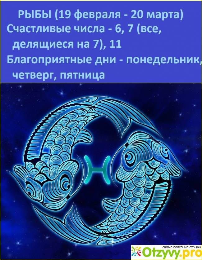 Характеристика знака зодиака
