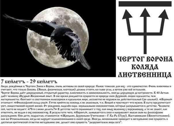 Чертог ворона: описание и значение для мужчин и женщин