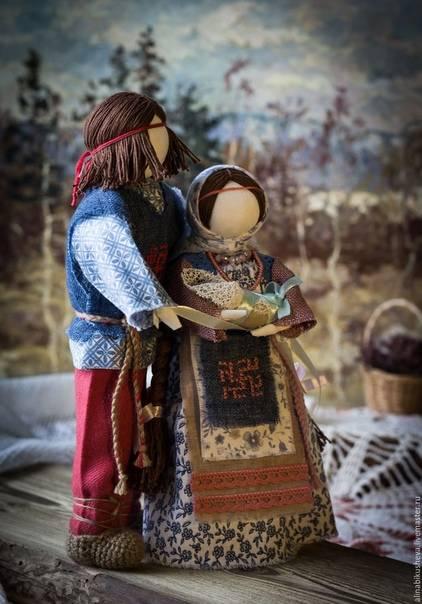 Кукла на счастье – магические свойства, как изготовить своими руками