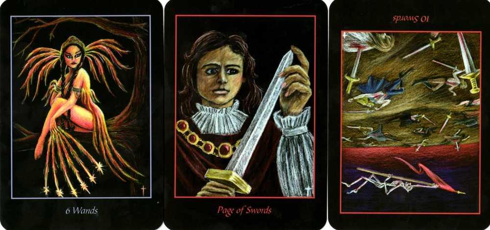 10 мечей в таро: толкование в зависимости от положения и характера расклада