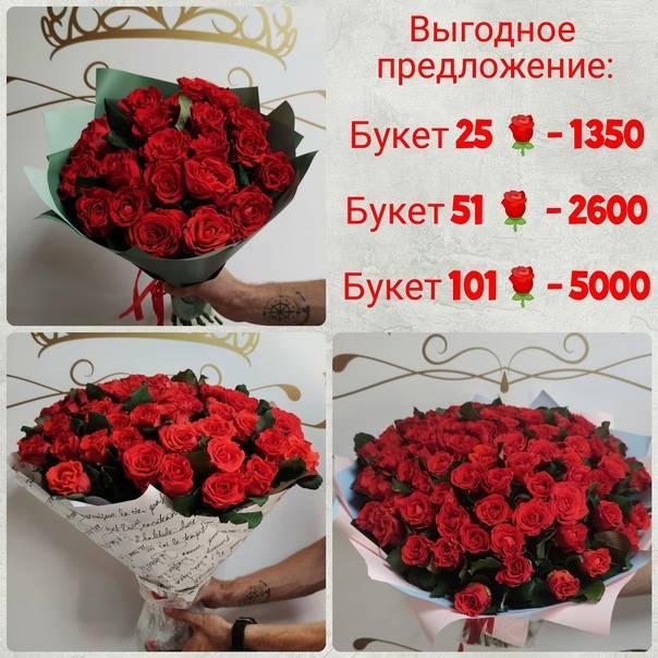 Сколько роз можно дарить в подарок?