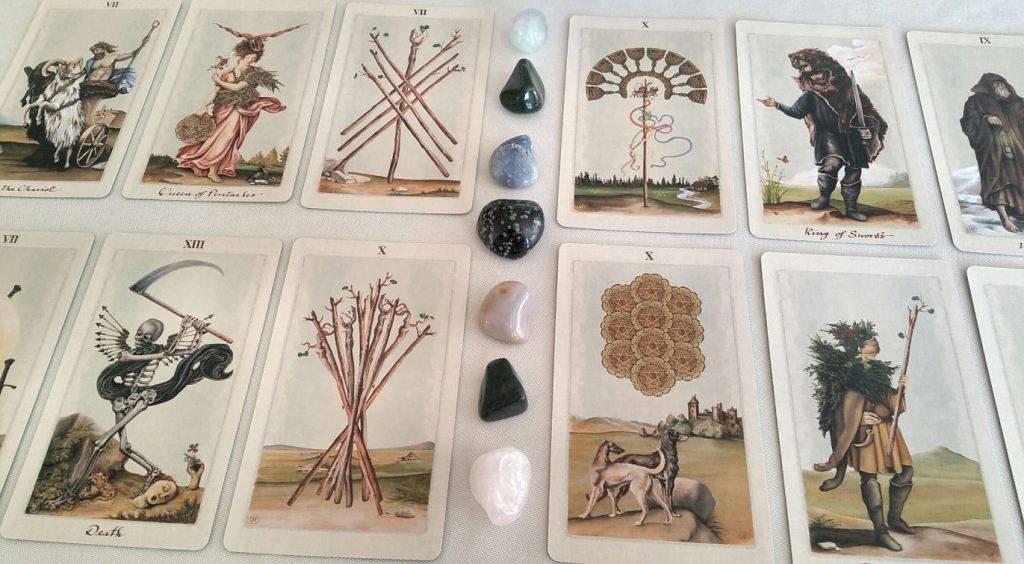 Языческое таро (таро белой и черной магии) — pagan tarot