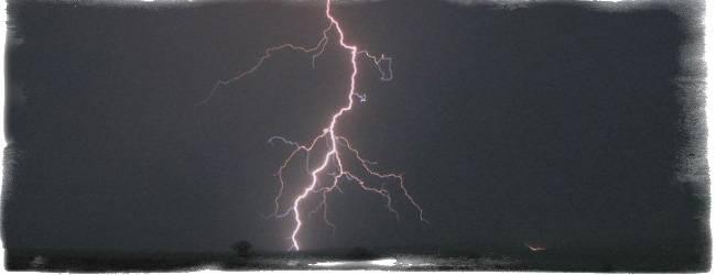 Народные приметы - гроза в апреле, гром и молния