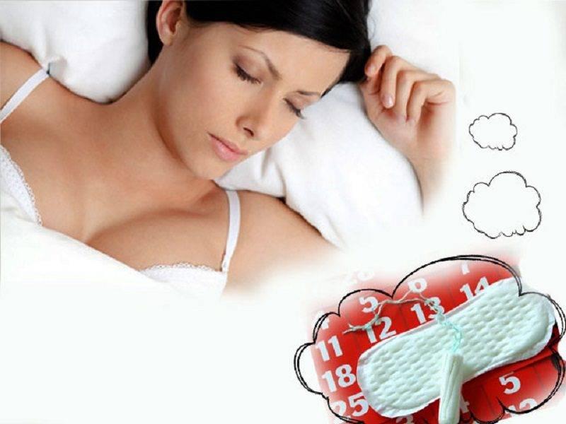 Сонник к чему снится менструационная кровь