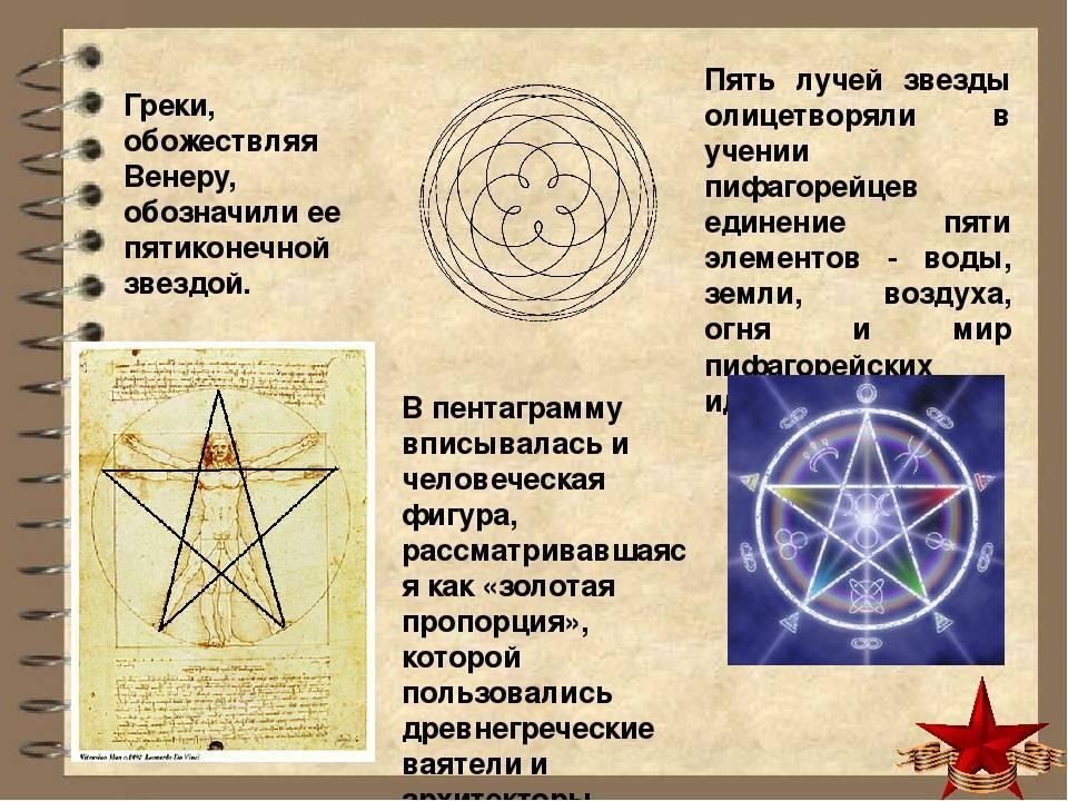 Пентаграмма, пятиконечная звезда в магии и оккультизме
