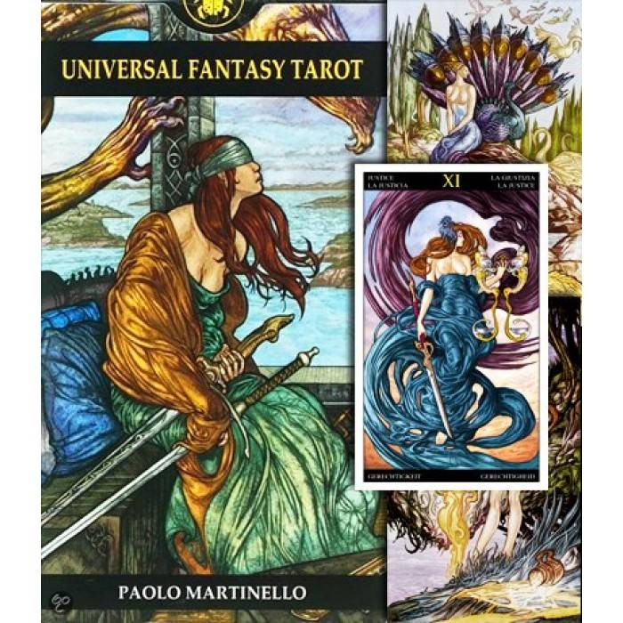 Таро драконов — нестандартная колода в стиле фэнтези