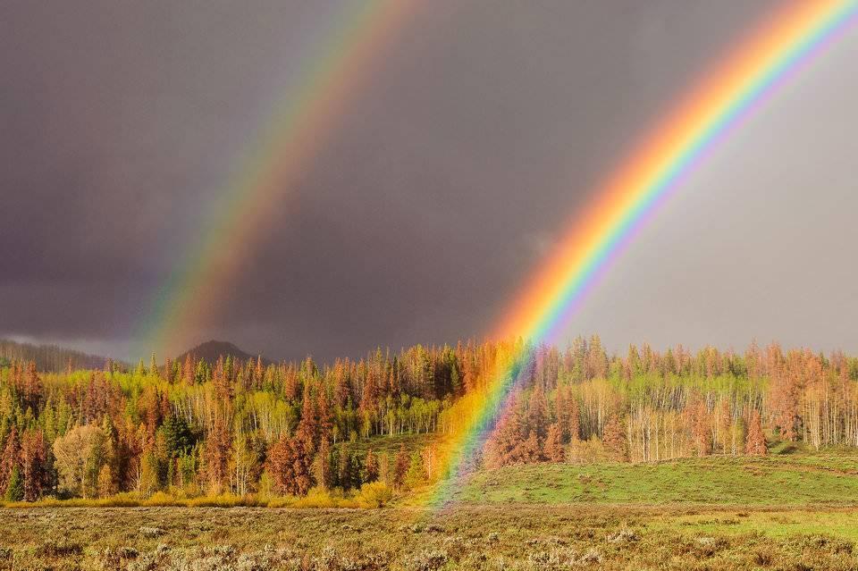 Приметы о двойной радуге
