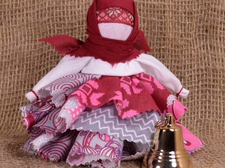 Кукла оберег колокольчик: символическое значение, мастер-класс