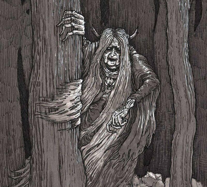 Шишига | bestiary.us