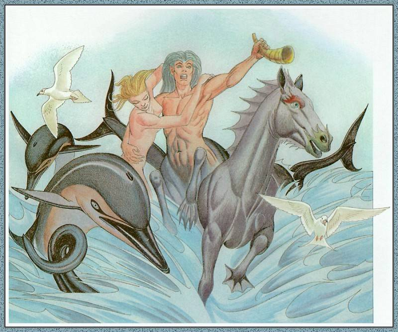 Кто такой бог посейдон в древнегреческой мифологии, чем он знаменит