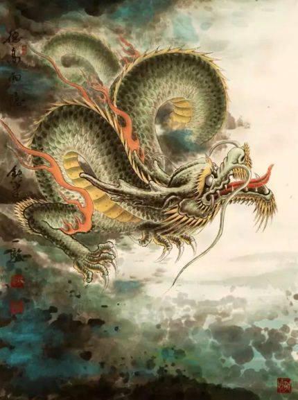 Фен шуй дракон